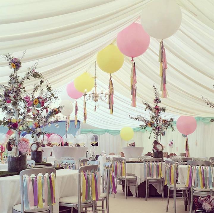 Balloon Decoration Wish Flowers